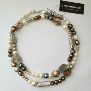 STEPHEN DWECK SS Fresh Water Pearl Necklace
